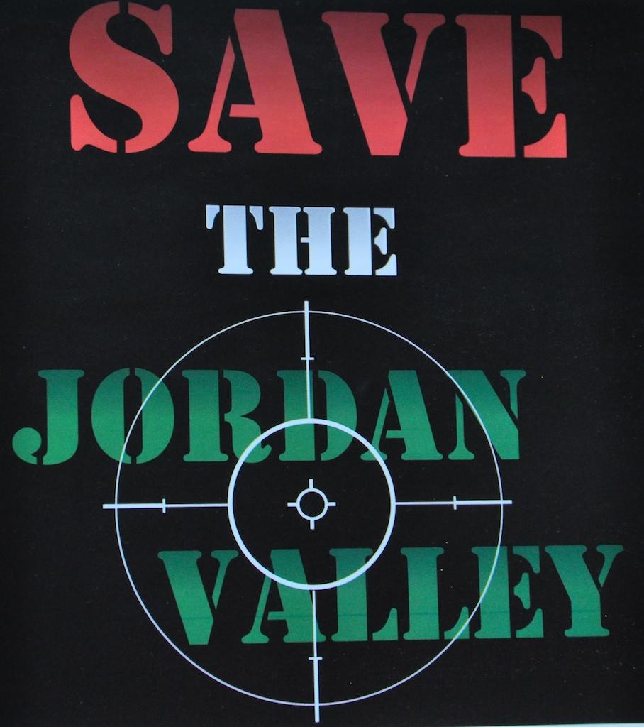 Sauvons la vallée du Jourdain