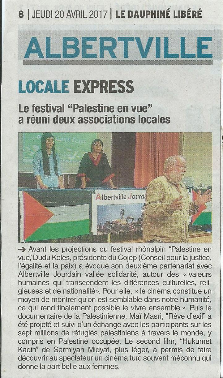 Palestine en vue DL 2