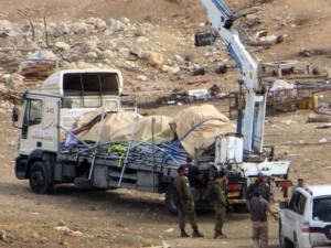 ROBIN PIPER: Coordonnateur des Nations Unies pour l'aide aux Palestiniens condamne la saisie des tentes de Khirbet al Hamma