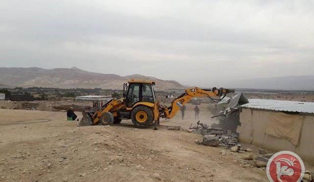 DESTRUCTIONS DANS LA VALLÉE DU JOURDAIN À AL  FASAYEL