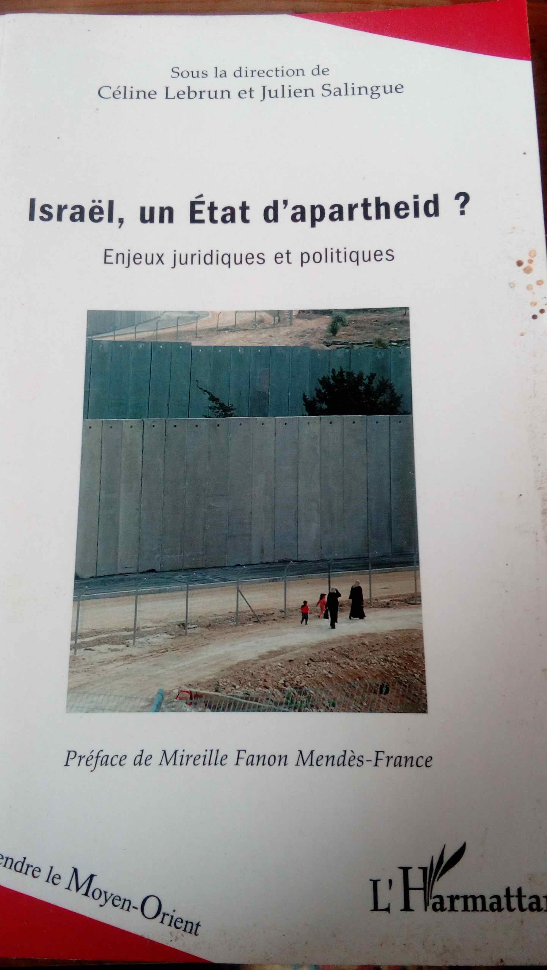 ISRAËL UN ÉTAT D'APARTHEID ?